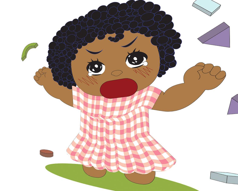 Детские истерики как не сойти с ума