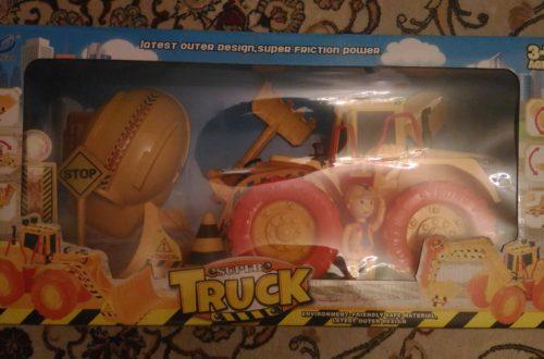 Строительная техника Super Truck Арт. WC-B0302 (обзор покупки)